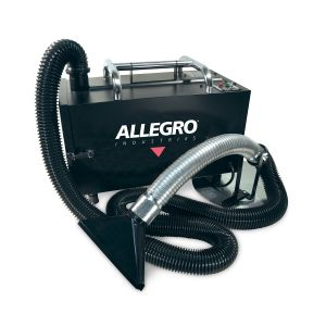 Allegro Portable Fume Extractor w/ HEPA Filter and Pleated Pre-filter - 1 Unit