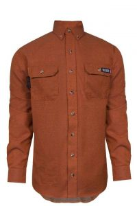 NSA TCG012002 TECGEN SELECT FR Work Shirt Orange
