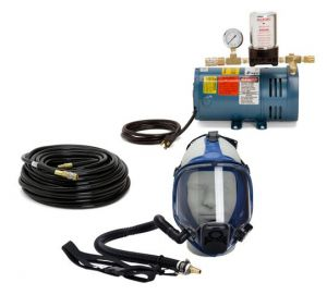 Allegro Safety 9200-01 Full Mask Supplied Air Respirator System-One Man
