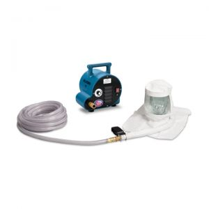 Allegro 9221-02A 2-Worker Single Bib Tyvek Hood Breathing Air Blower Respirator System w/ 50' Hose
