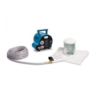 Allegro 9222-02A 1-Worker Double Bib Tyvek Hood Breathing Air Blower Respirator System w/ 50' Hose