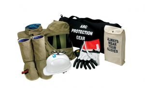Chicago Protective Apparel  74 CAL Coat & Leggings Arc Flash Clothing Kit - PPE Category 4 AG74-CL