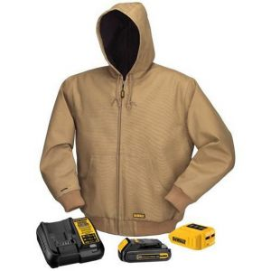 Dewalt Khaki Heated Jacket - Full Kit Khaki Color - 1 / Box