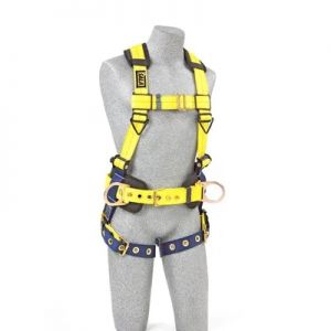 3M DBI-SALA 1101655 Delta Construction Style Positioning Harness, 1 Each