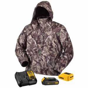 Dewalt Tru Timber™ HTC Camo Heated Jacket - Full Kit Camo Color - 1 / Box
