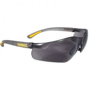 DeWalt Contractor Pro Safety Glasses-Smoke Lens (Box of 12)