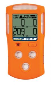 Multi Gas Clip INFRARED Detector - 2 Gas Meter