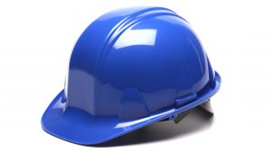 Pyramex HP14160 SL Series Hard Hat One Size ANSI Z89.1 standards, Type 1 - Class C, G, and E Polyethylene  Blue Color - 16 / CS