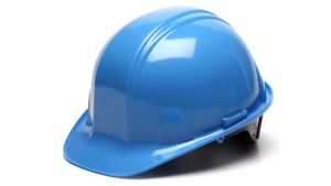 Pyramex HP14162 SL Series Hard Hat One Size ANSI Z89.1 standards, Type 1 - Class C, G, and E Polyethylene  Blue Color - 16 / CS