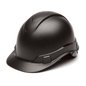 Pyramex HP44117 Ridgeline Hard Hat One Size ANSI Z89.1 standards, Type 1 - Class C, G, and E ABS  Black Graphite Color - 16 / CS