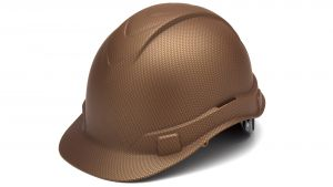 Pyramex HP44118 Ridgeline Hard Hat One Size ANSI Z89.1 standards, Type 1 - Class C, G, and E ABS  Copper Color - 16 / CS