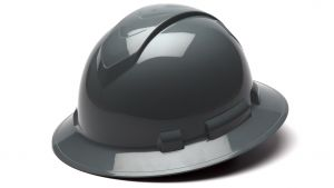 Pyramex HP54113 Ridgeline Hard Hat One Size ANSI Z89.1 standards, Type 1 - Class C, G, and E ABS  Gray Color - 12 / CS