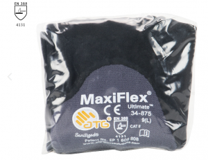 PIP ATG 34-875V MaxiFlex Ultimate Gloves - VEND PACK - 3/4 Coat Nitrile Micro-Foam - Gray Color (6 DZ)