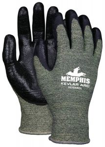 MCR Safety 9379ARC  Cut Protection Work Gloves Black Color - 1 PR