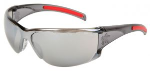 HK117 - HellKat® Silver Mirror Lens Safety Glasses 12/Pairs