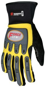 MCR Forceflex Multi-Task, Work Glove, Yellow Color 1 Pair