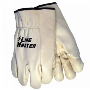 LineMaster Cow Grain Leather Cover Gloves