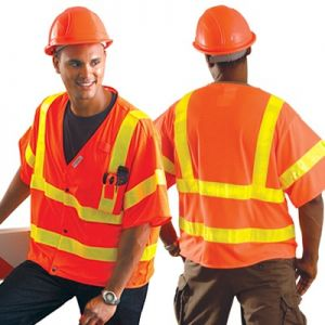 OccuLux Class 3 Safety Vest with Yellow Gloss Tape