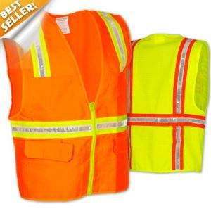 OccuLux 2 Tone Surveyor's Vest with Mesh Back