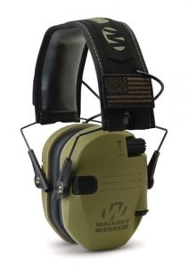 Walker's Hearing GWP-RSEMPAT-ODG Razor Patriot Series Razor Slim Electronic Muff