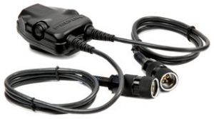 3M™ PELTOR™ DUAL Push-To-Talk (PTT) Adapter Military Radios FL5701, with 6-PIN MIL-C-55116 Connector 1 EA/Case