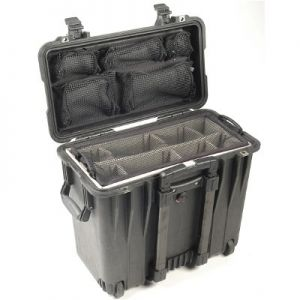 Pelican 1440 Top Loader Case with Padded Dividers