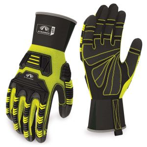 Pyramex Gloves GL802CR Series Synthetic Material Green Color - 1 Pair