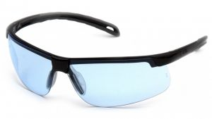 Ever-Lite Safety Glasses - Infinity Blue Lens with Black Frame (Box of 12)