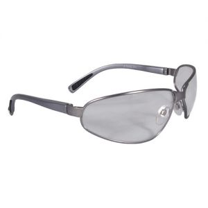 Radians Task Force Plus Safety Glasses Clear Lens Metal Frame- 1 Pair