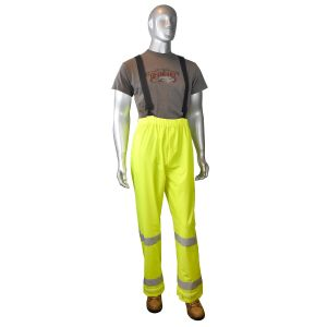 Radians Fortress 20 High Visibility Rain Pants Yellow Color (1 Each)
