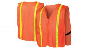 Pyramex RV100 Non Rated Safety Vests 12/Box