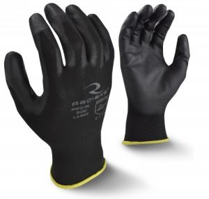 Radians RWG19 Work Gloves, Touchscreen PU Palm Coated (1 DZ)
