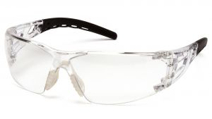 Pyramex Fyxate SB10210S Clear Lens with Clear Temples 12 Pairs