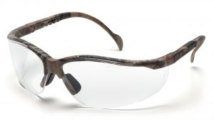 Pyramex Safety - Venture II - Real Tree HW Frame/Clear Lens Polycarbonate Safety Glasses - 12 / BX
