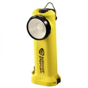 Streamlight Survivor Flashlight LED Light  (without charger) 90510 Yellow