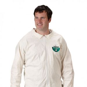 Pyrolon Plus 2 Disposable Coveralls with Collar and Zipper