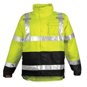 Tingley J24122 Icon Rain Jacket Hi Viz Yellow