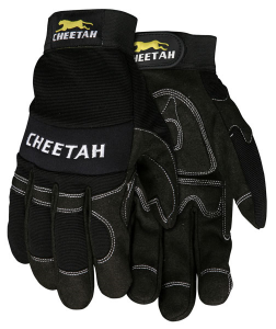 MCR Safety Cheetah Multi-Task Safety Gloves  Black Color 1 Pair