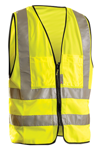 Occunomix LUX-SSFS Class 2 Hi Vis Surveyor Vests ( 1 EA)