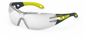 HexArmor MX200S Safety Glasses Silver Mirror Lens Silver Mirror Color - 1 Pair