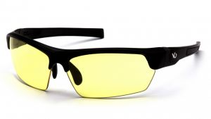 Venture Gear  Tensaw  Black Frame/Yellow AntiFog Lens  Safety Glasses  1 / EA