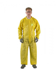 Ansell Microchem® by AlphaTec® 2300 YY23-B-92-103 Standard  Model 103 Coveralls 25/Case