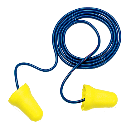 3M e-a-r soft corded earplugs