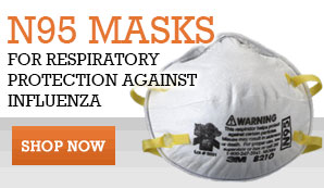 N95 Dusk Mask for Avian and/or swine Flu