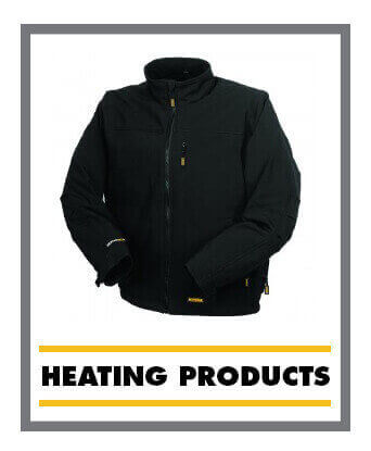 DeWalt Heating Wear