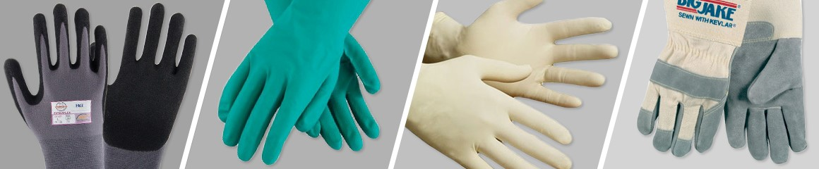 Work Gloves Banner