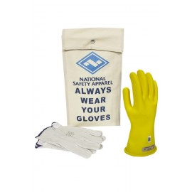 NSA KITGC00-Y Class 00 Yellow Rubber Voltage Glove Kit