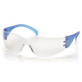 Pyramex  Intruder  Blue Temples/ClearHardcoated Lens  Safety Glasses  12/BX