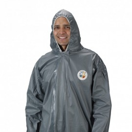 Lakeland Pyrolon CRFR Coverall - with Hood & attached Boots (Case of 6)