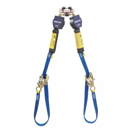 3M™ DBI-SALA® Nano-Lok™ Tie-Back Twin-Leg Quick Connect Self Retracting Lifeline, Web 3101374